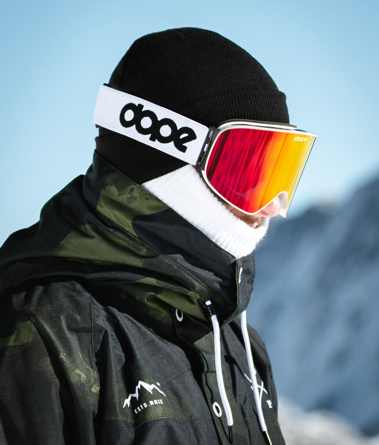 Buy Flush OG Ski Goggle from Dope at Ridestore.com - Always free shipping, free returns and 30 days money back guarantee