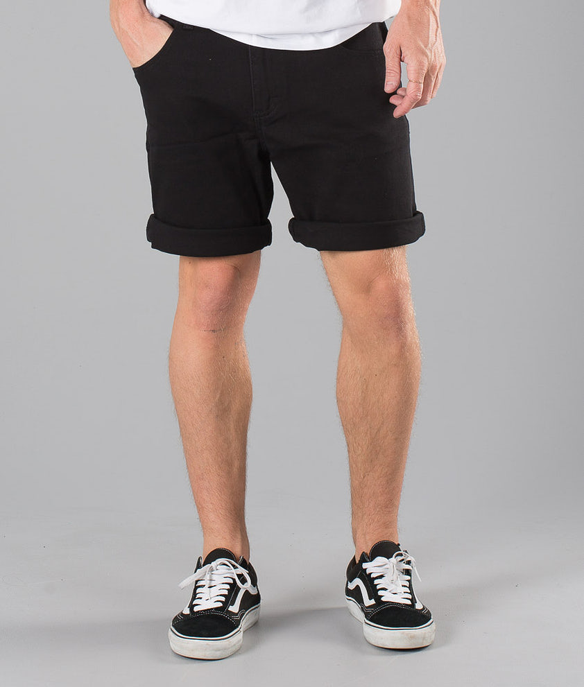 Sweet SKTBS Slim Colored Shorts Black