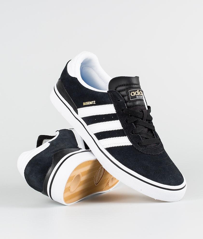 Adidas Skateboarding Busenitz Vulc Skor Black1/Running White/Black1