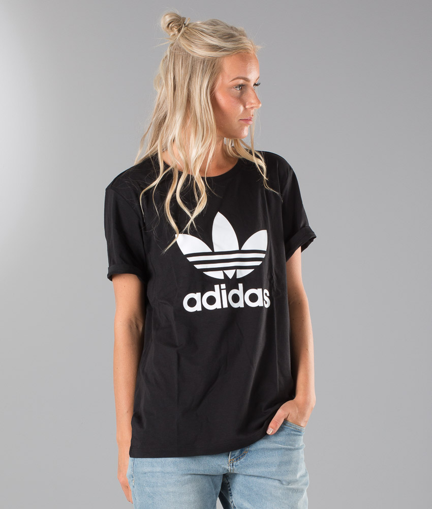Adidas Originals Bf Trefoil T shirt Black