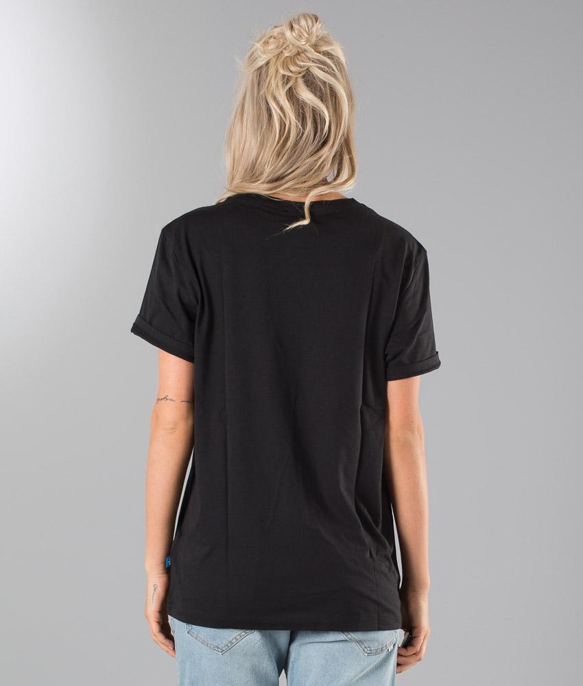 adidas Originals T Shirt Boyfriend Trefoil Black