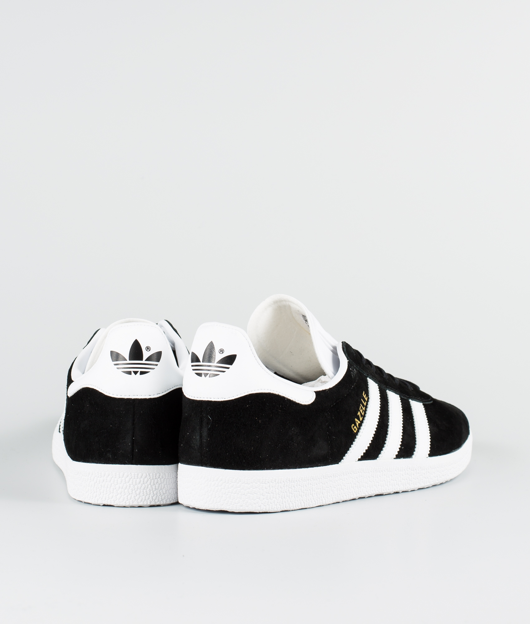 Adidas Originals Gazelle Sko Core BlackWhiteGoldmt