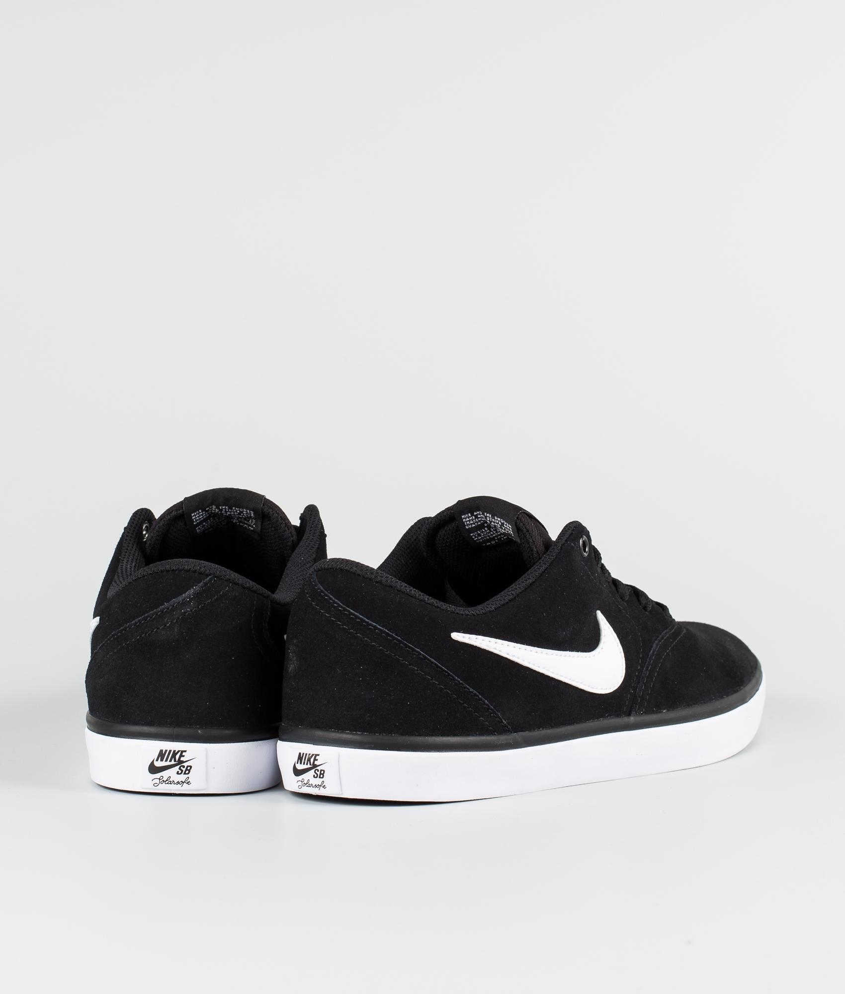 Nike Check Solar Sko BlackWhite