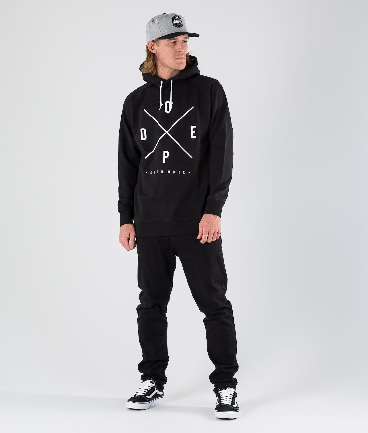 Dope 2X-UP Hood Black