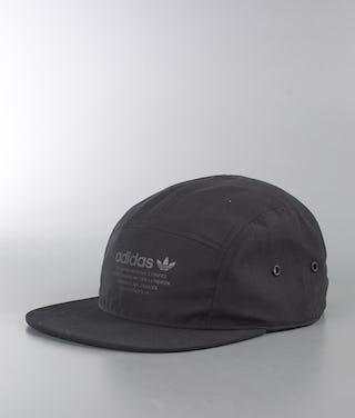 new concept genuine shoes uk store Adidas Originals Nmd 5 Panel Cap Black