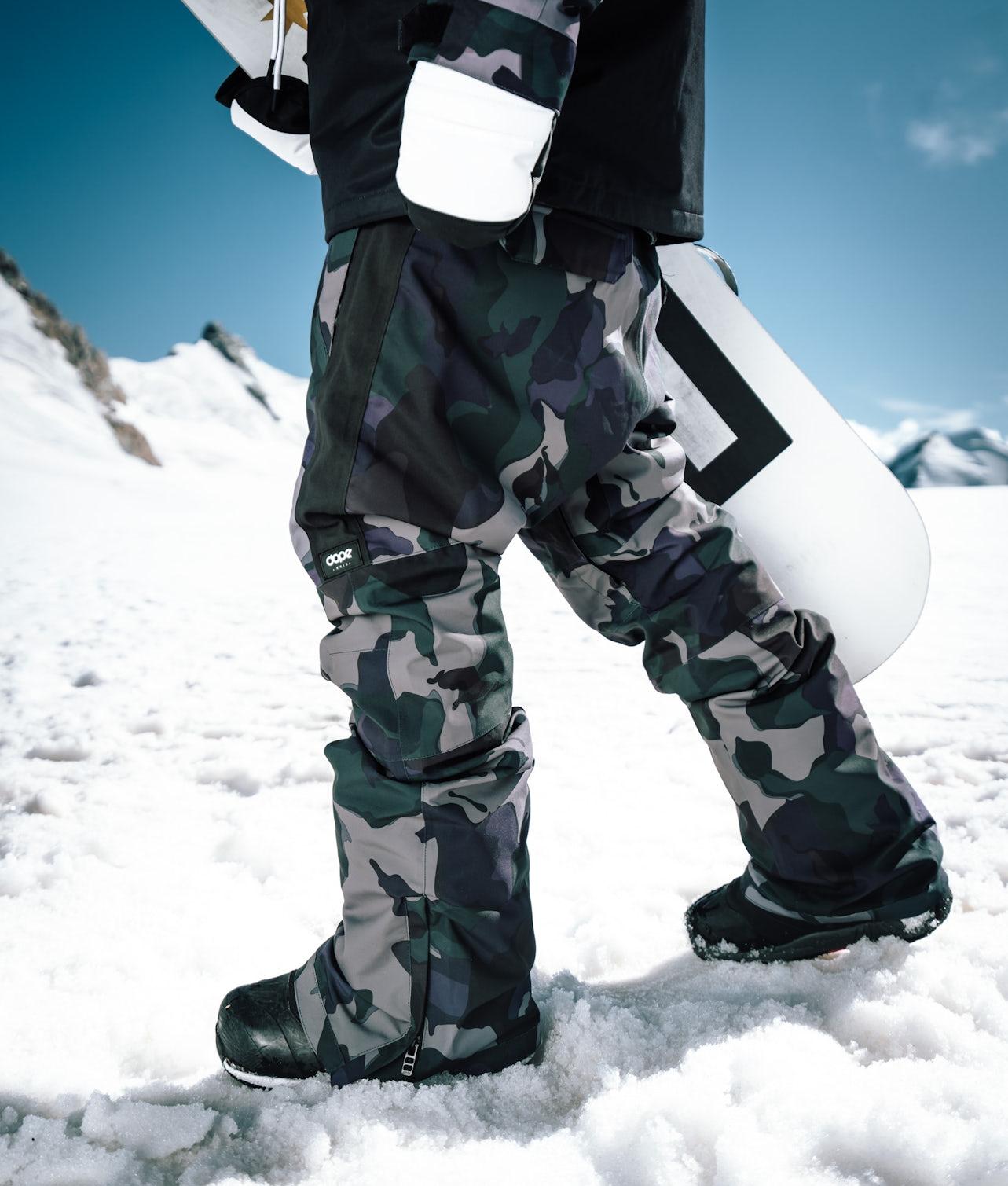 Dope Hoax II Snowboardbukse Grape Green Camo