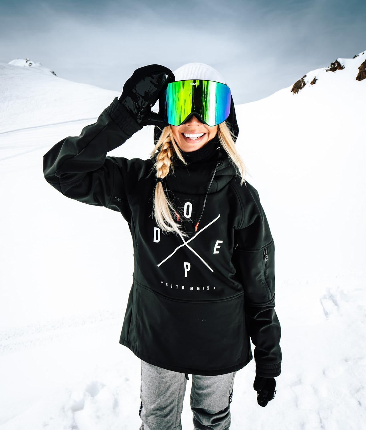 Dope Rambler MTE W Skijakke Black