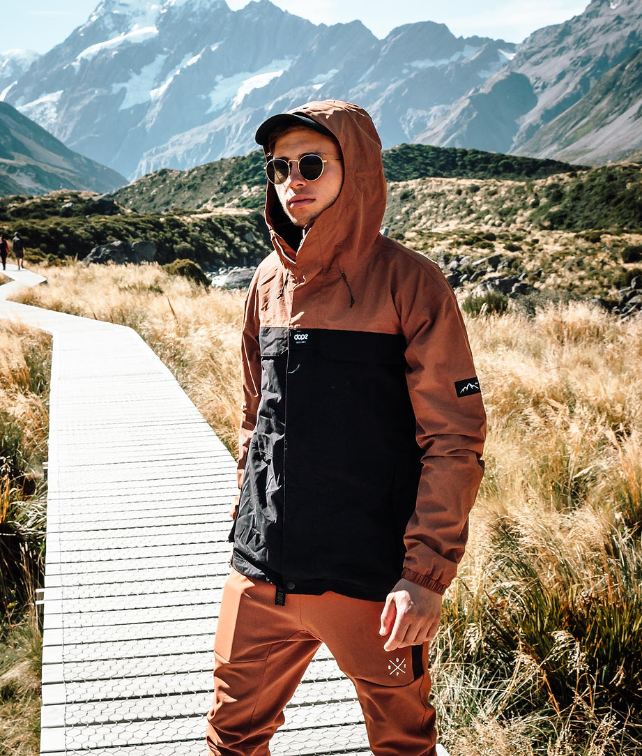 Dope Trekker Outdoorjacke Adobe/Black