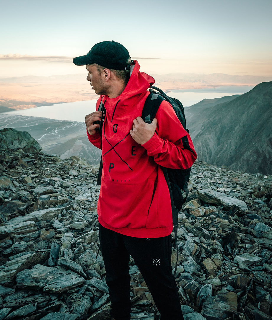 Dope Rambler Outdoorjacke Red