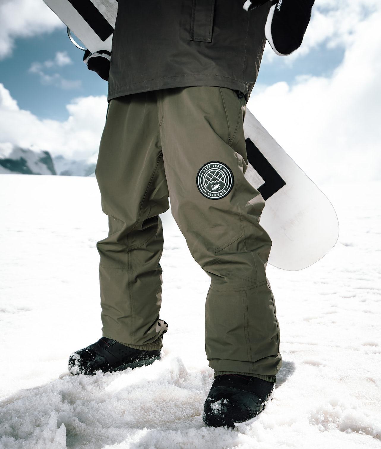 Dope Blizzard Snowboardbukse Olive Green