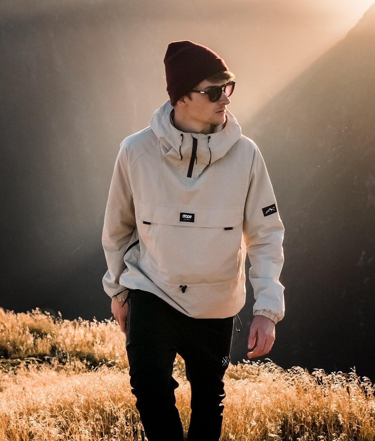 Dope Hiker 19 Outdoor Jacka Sand