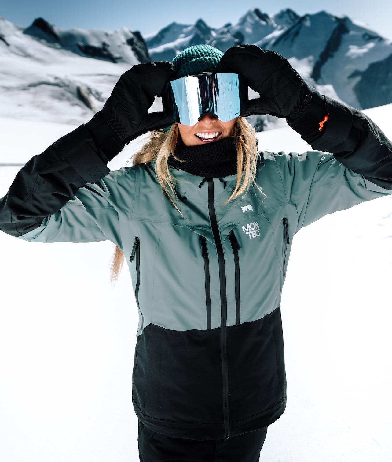 Kjøp Moss Skijakke fra Montec på Ridestore.no - Hos oss har du alltid fri frakt, fri retur og 30 dagers åpent kjøp!