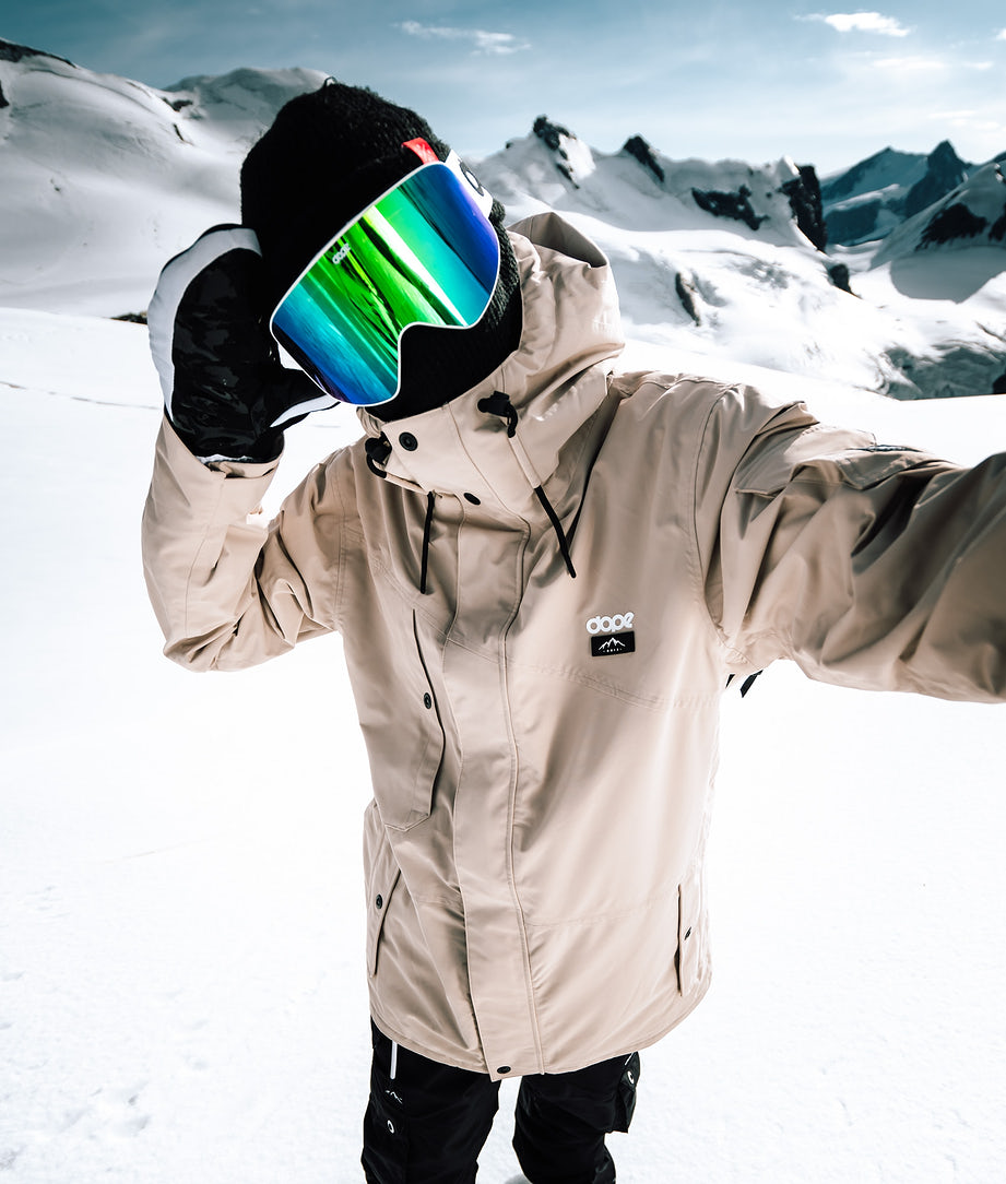 Dope Adept Snowboard Jacket Sand