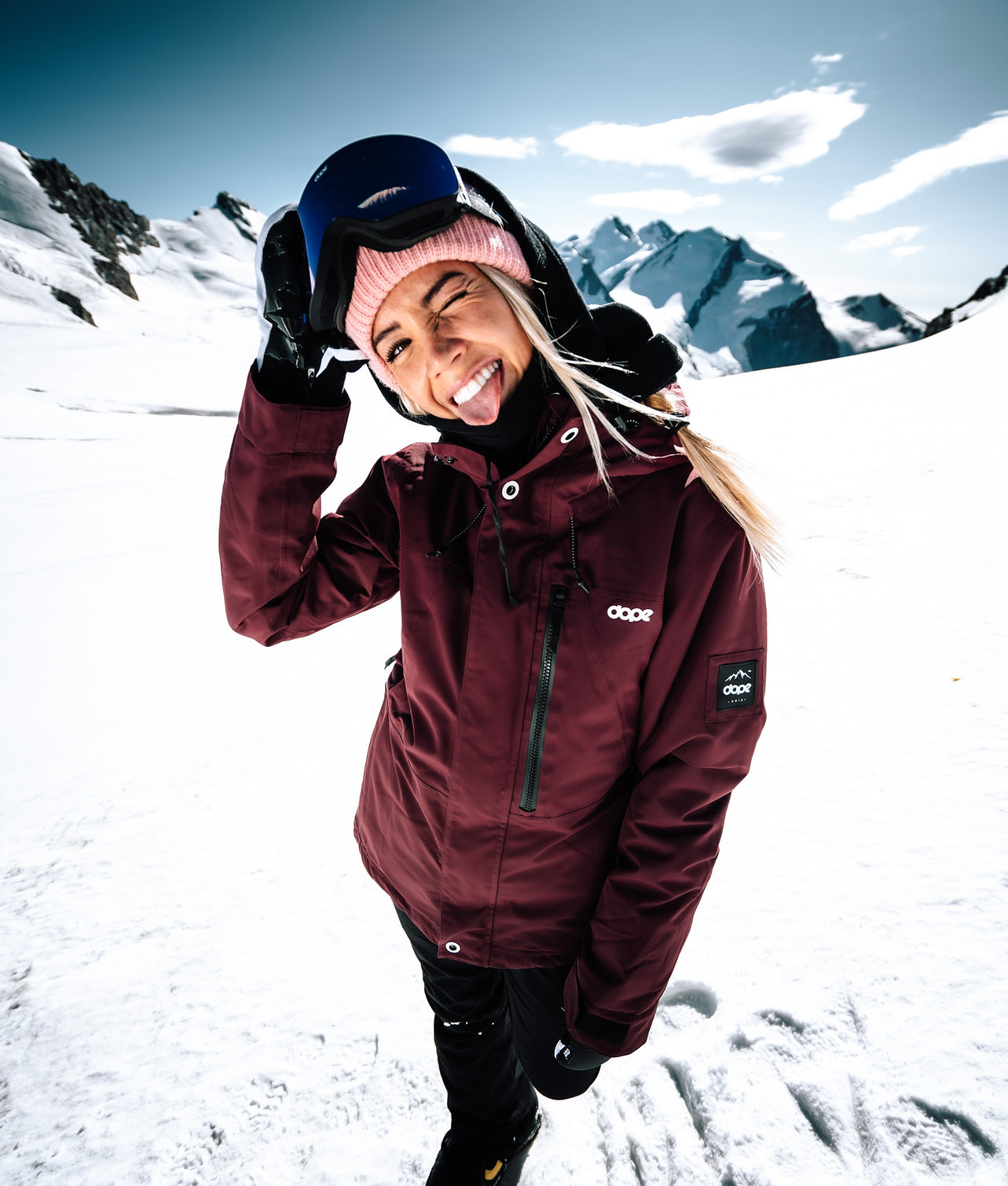 Divine | Achète des Veste de Snowboard de chez Dope sur Ridestore.fr | Bien-sûr, les frais de ports sont offerts et les retours gratuits pendant 30 jours !