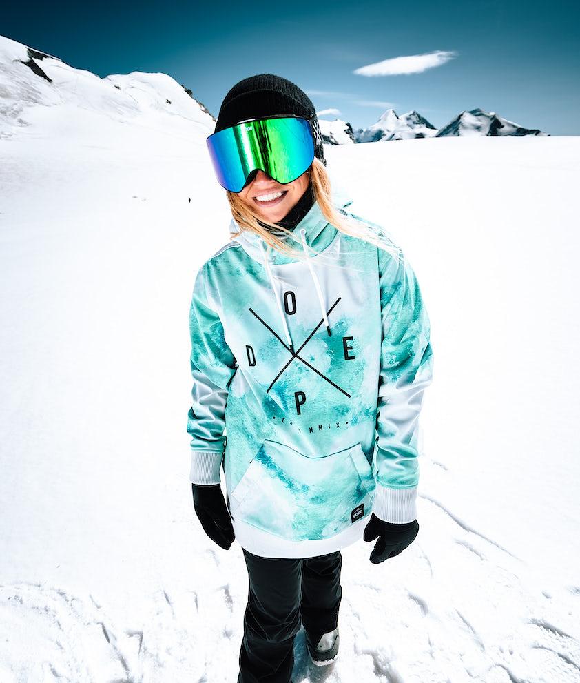 Dope Yeti W Snowboardjakke Water White