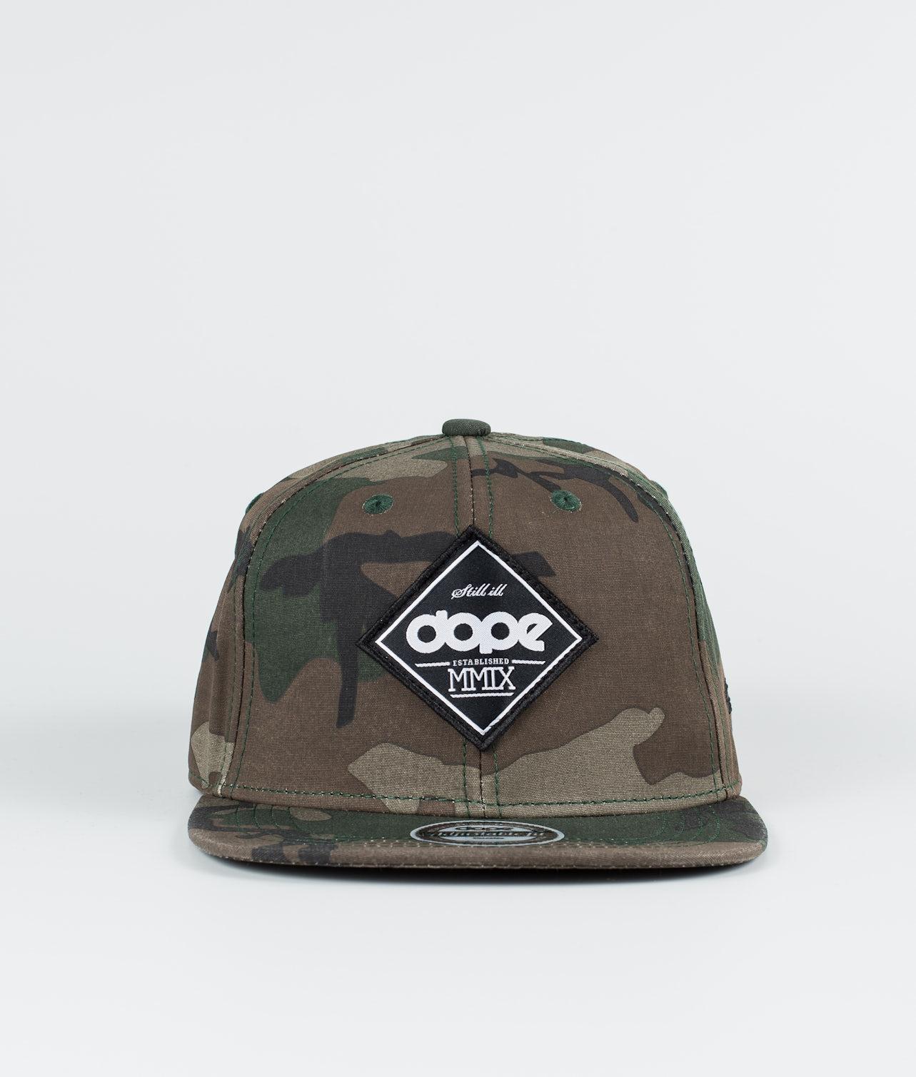 Kjøp Peak  Caps fra Dope på Ridestore.no - Hos oss har du alltid fri frakt, fri retur og 30 dagers åpent kjøp!