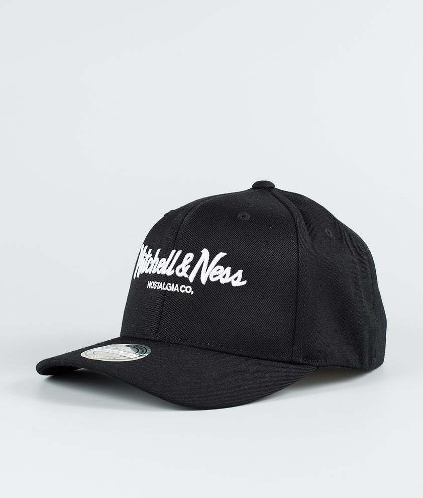 Mitchell and Ness Pinscript 110 Caps Black
