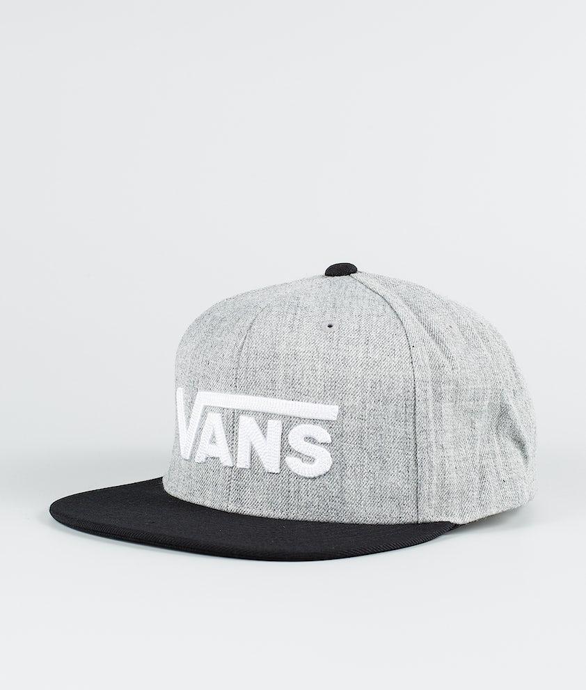 Vans Drop V II Snapback Keps Heather Grey/Black