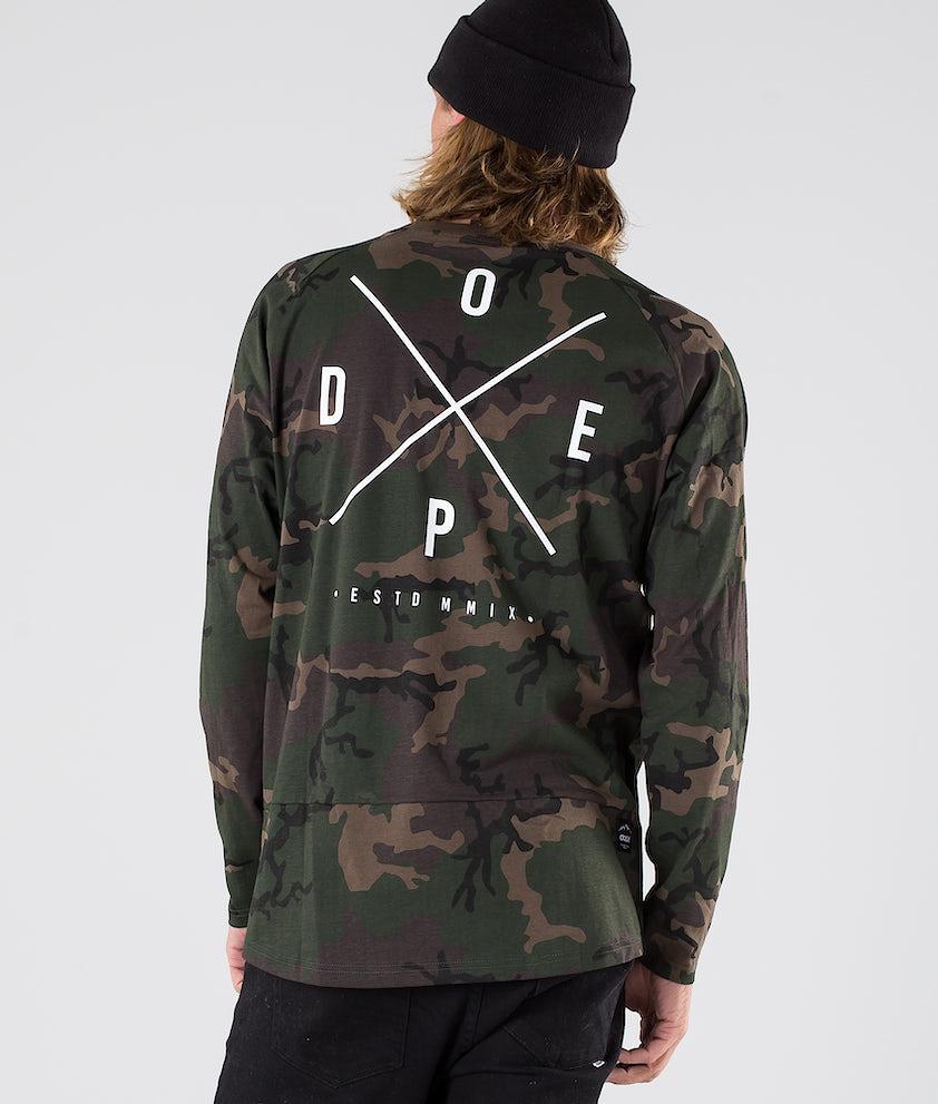Dope 2X-Up Longsleeve Woodcamo