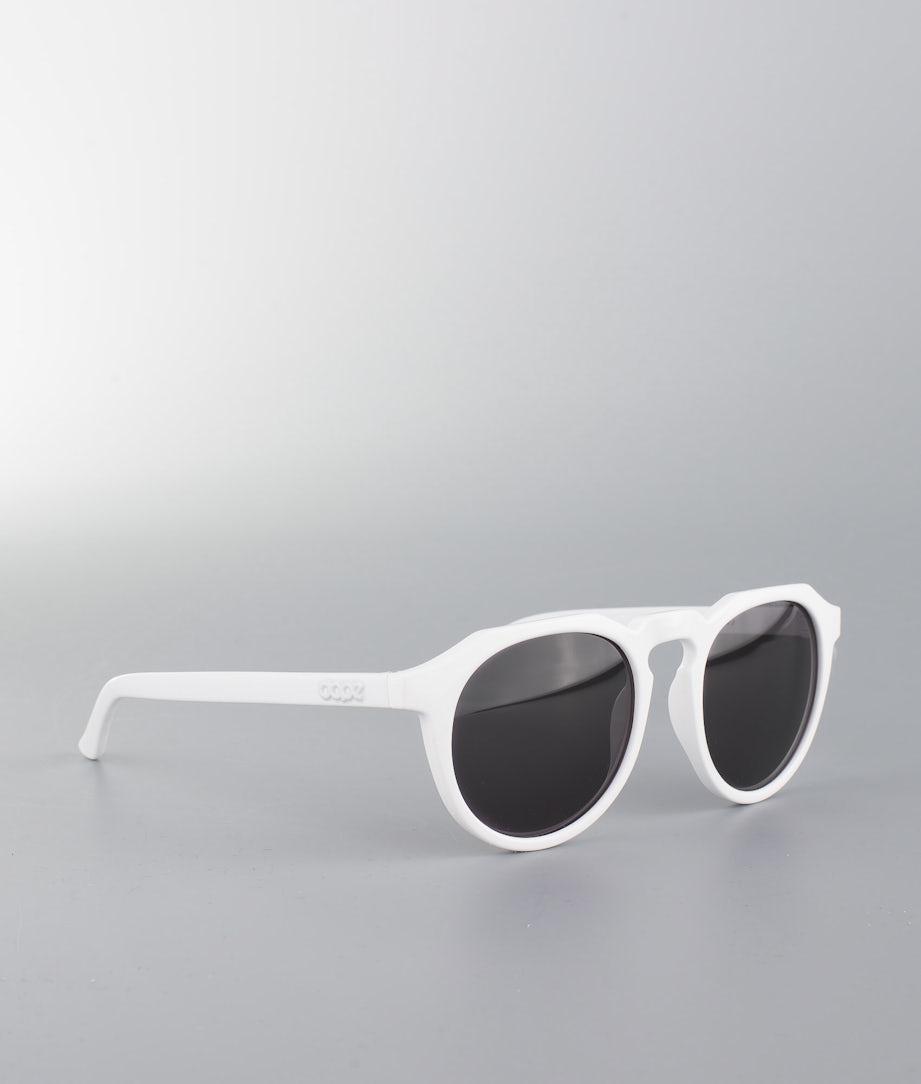 Dope Old School 3 Sunglasses White Black