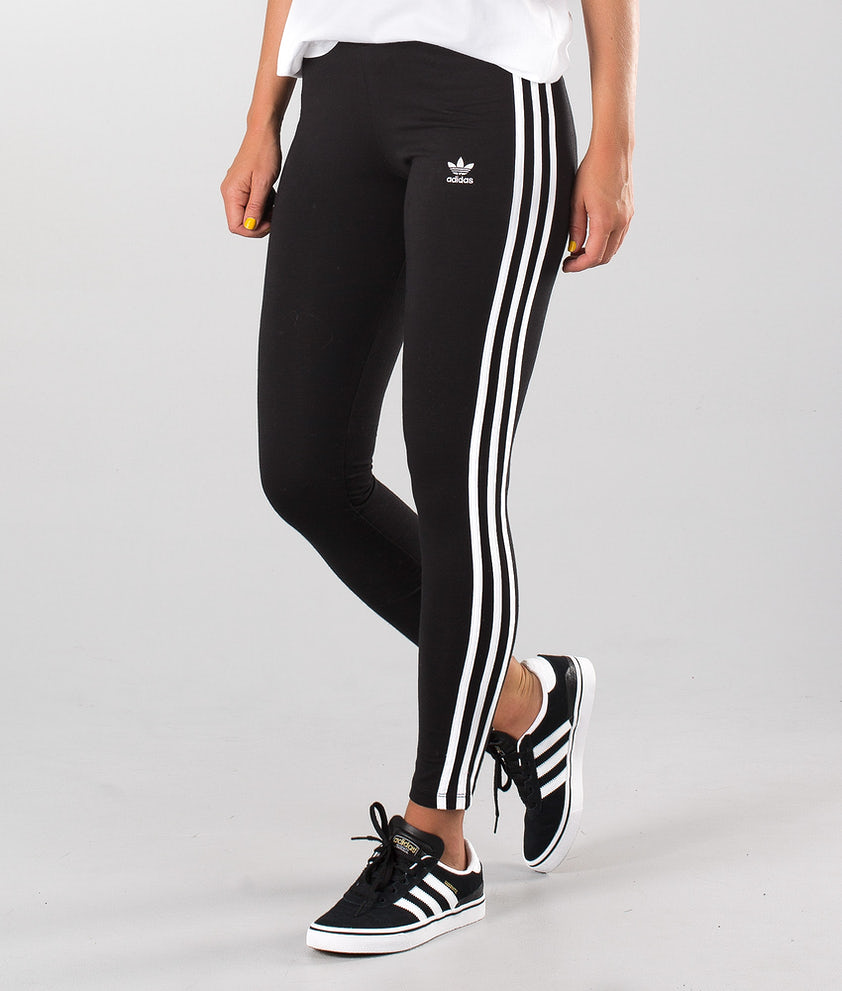 Adidas Originals 3-Stripes Leggings Black