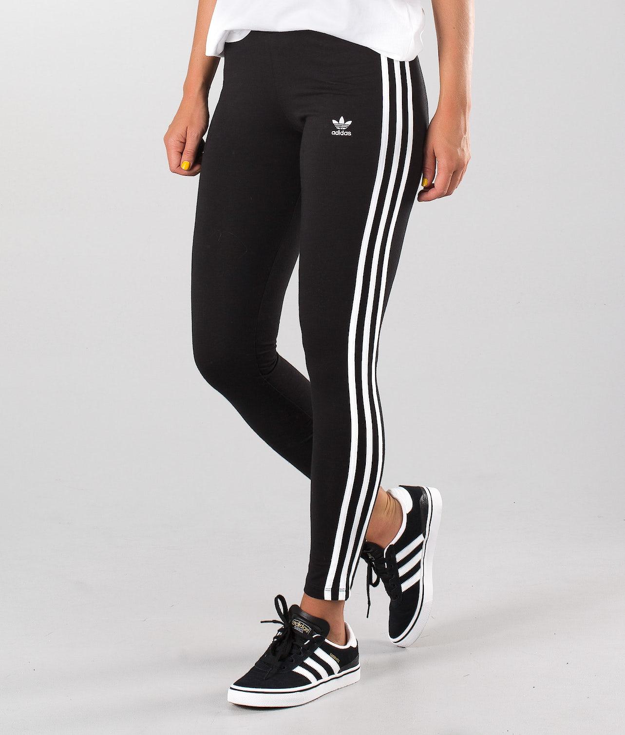 Adidas Originals 3-Stripes Leggings Black