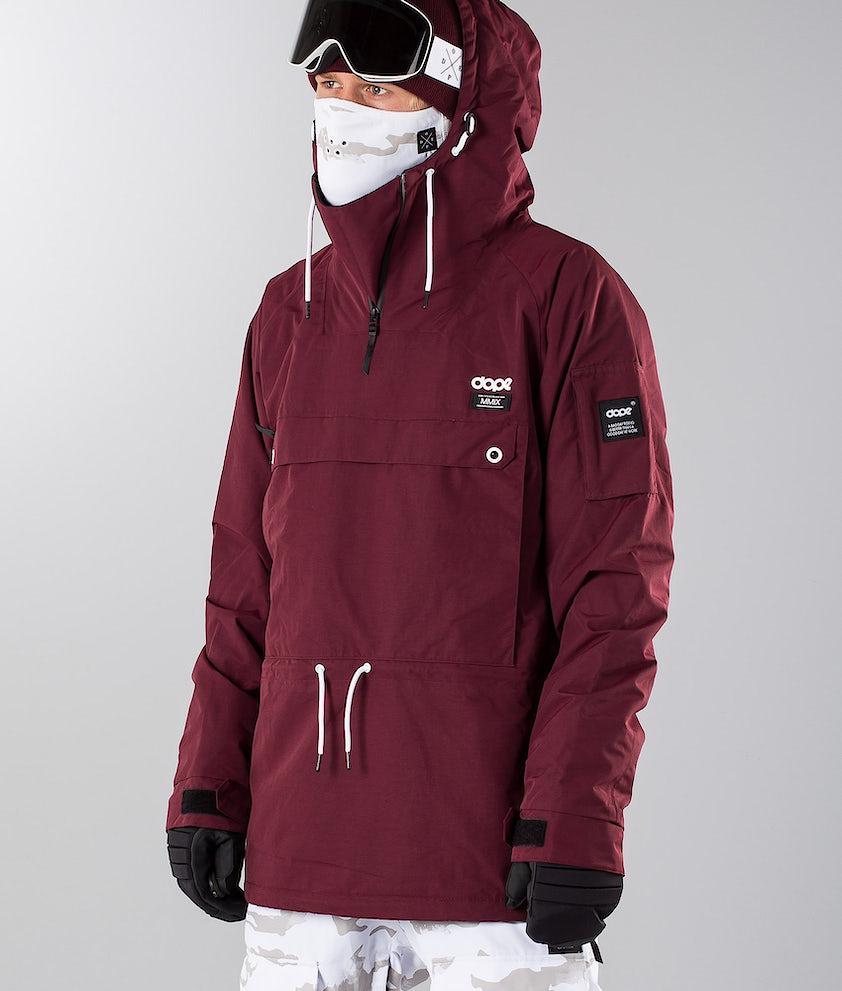 Dope Annok 18 Snowboardjacka Burgundy