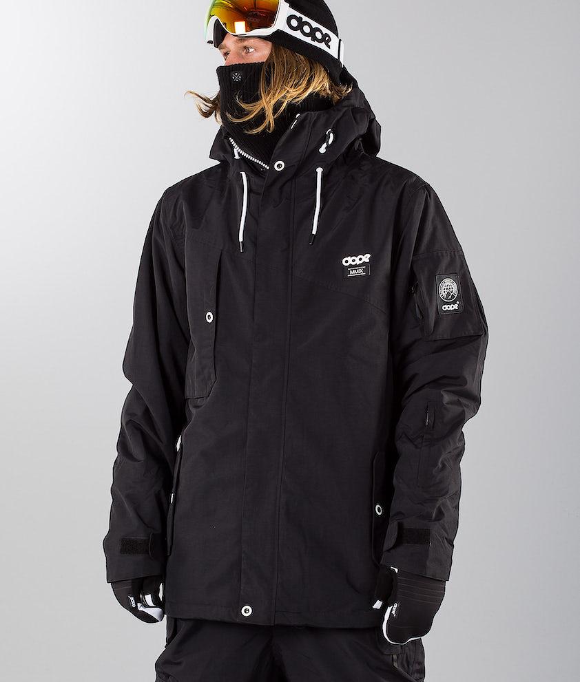Dope Adept 18 Snowboardjacka Black/Black