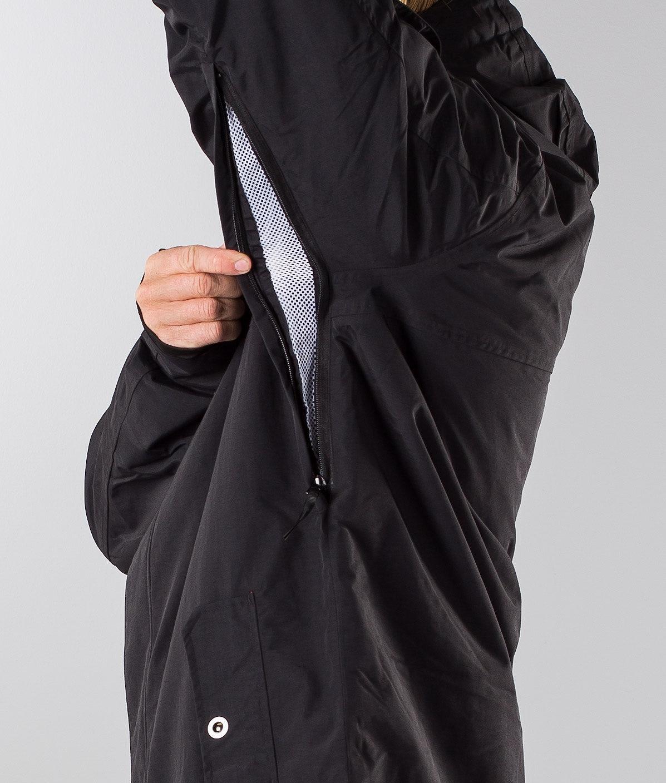 Dope Adept 18 Snowboard Jacket Black/Black