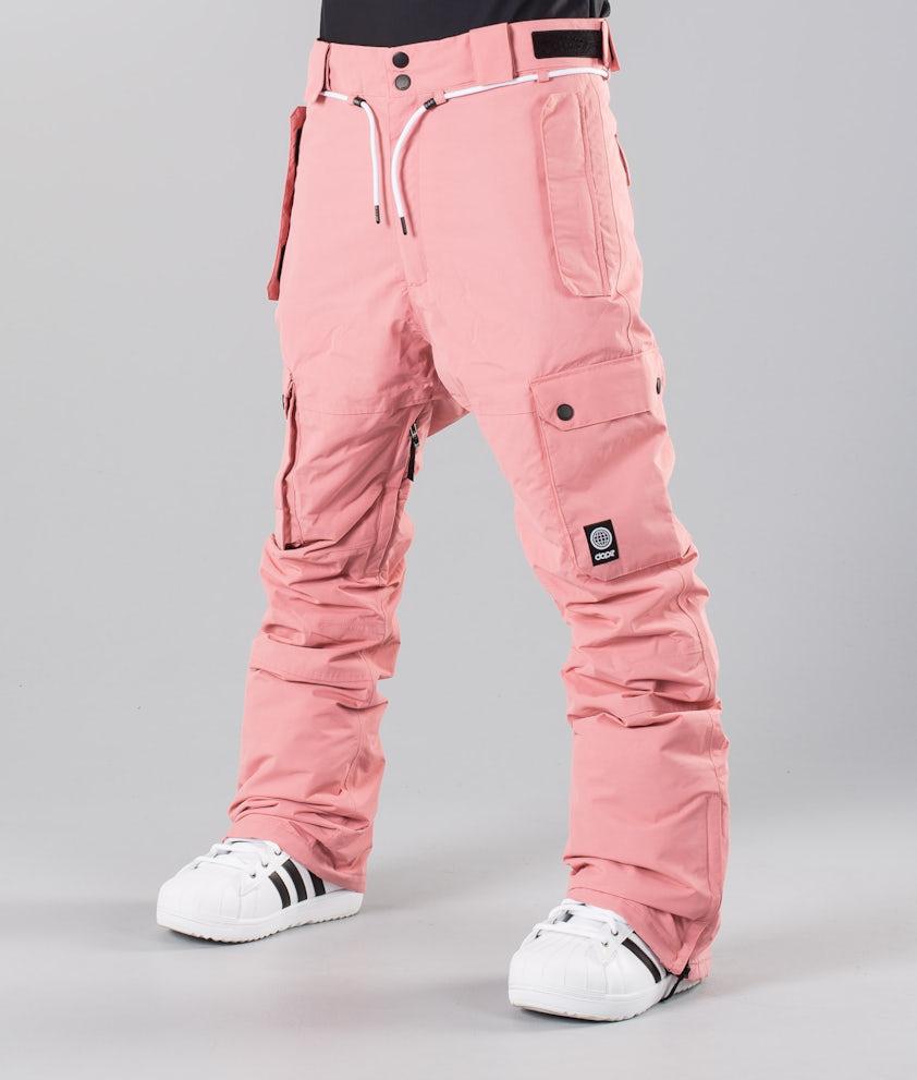 Dope Iconic 18 Pantalones de nieve Pink