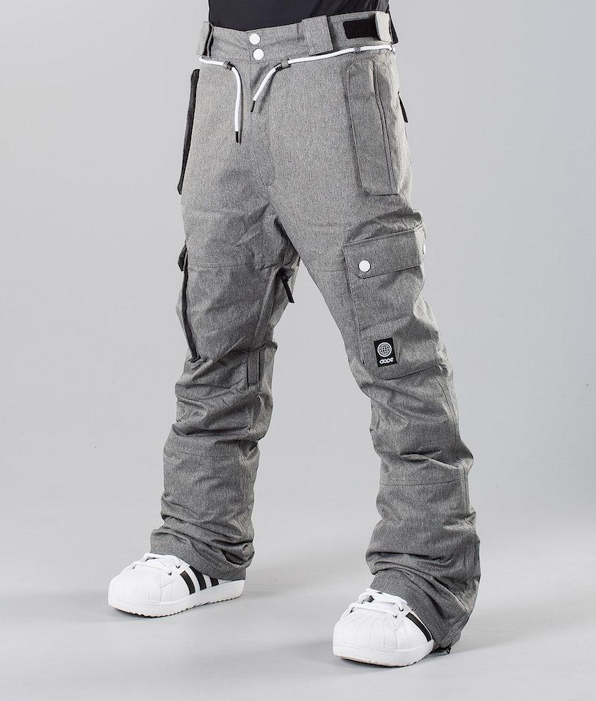 Dope Iconic 18 Pantalones de nieve Grey Melange