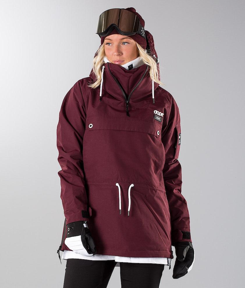 Dope Annok 19 Ski Jacket Burgundy