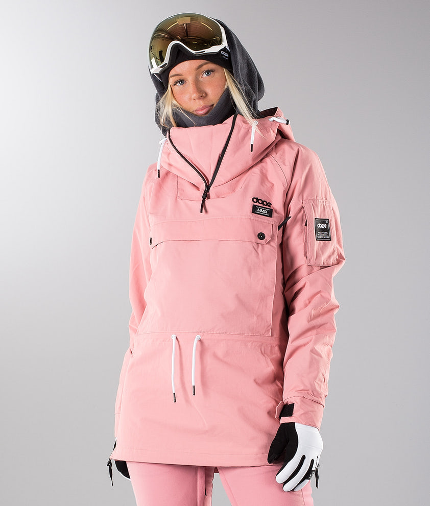 Dope Annok W 18 Veste de Snowboard Pink