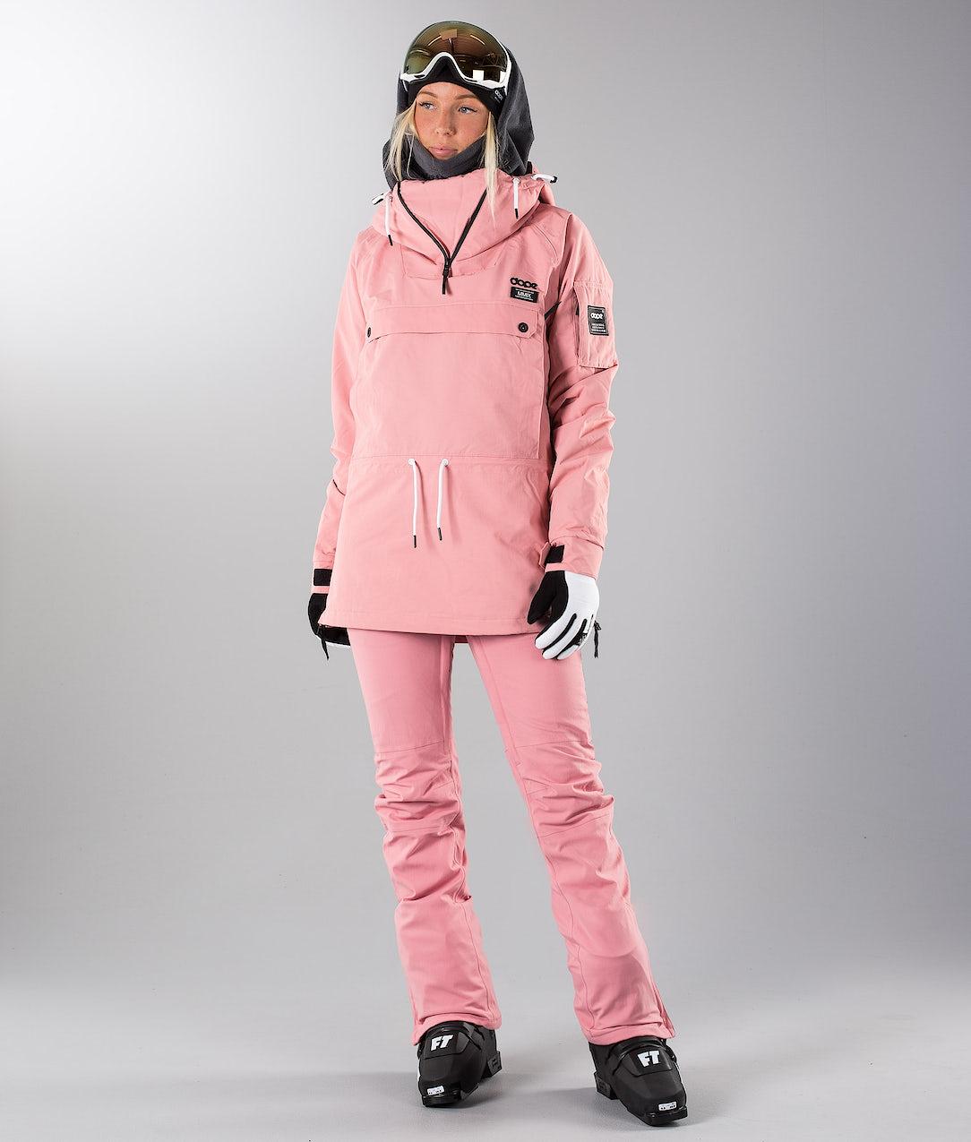Dope Annok W 18 Veste De Ski Pink