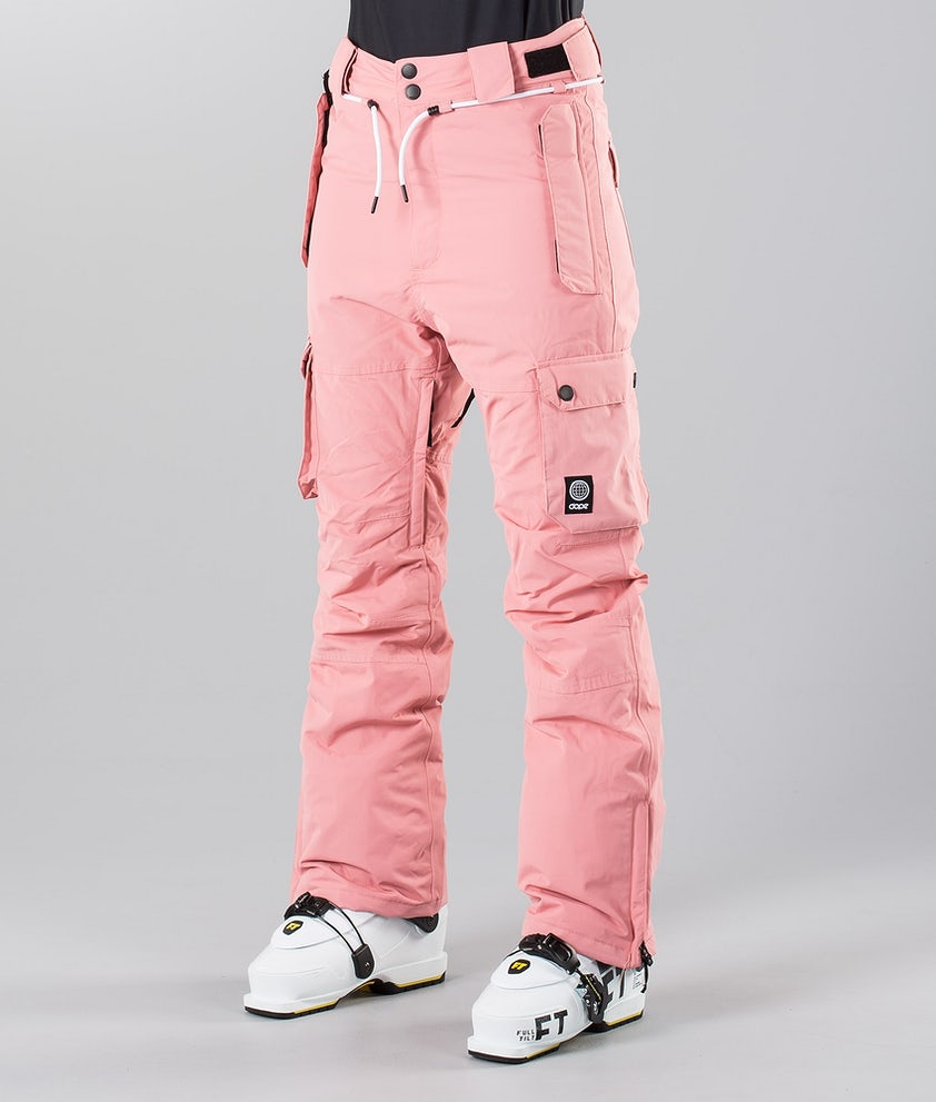 Dope Iconic W 18 Ski Pants Pink