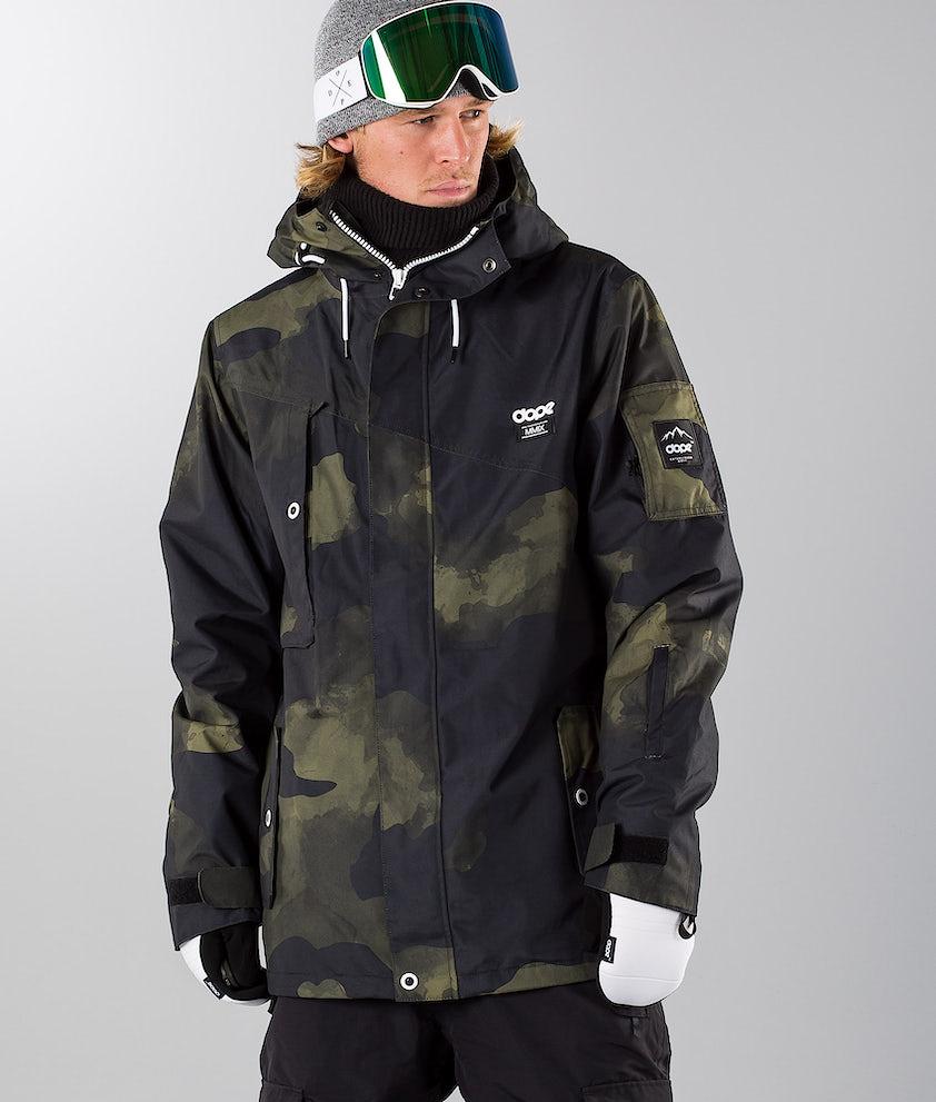 Dope Adept 18 Snowboardjacka Green Camo