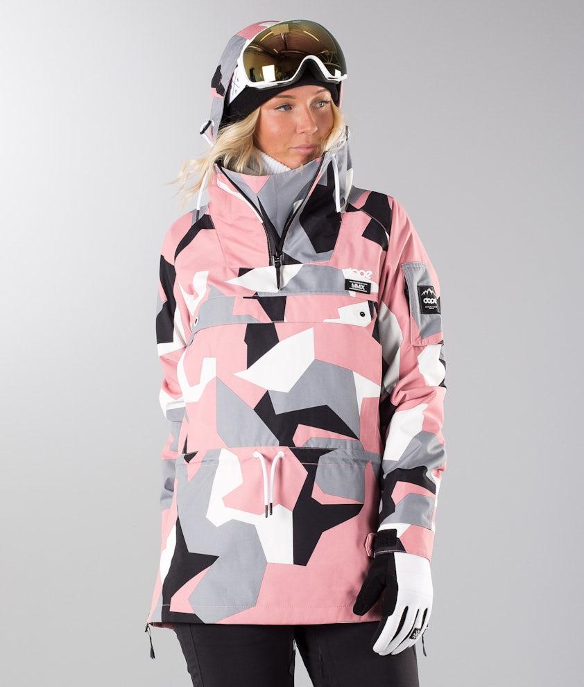 Dope Annok 19 Ski Jacket Pink Camo