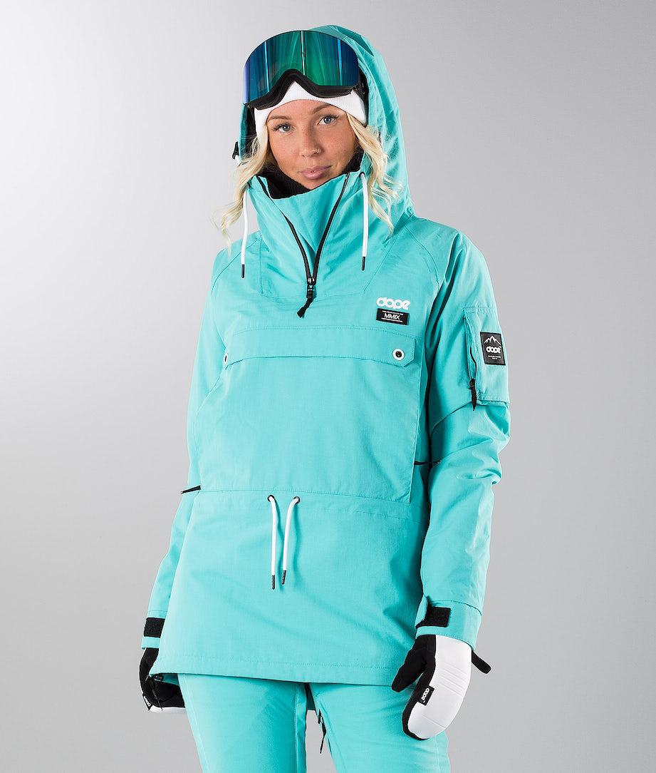 Dope Annok 19 Snowboard Jacket Azure