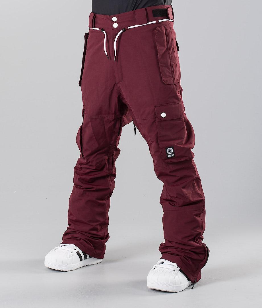 Dope Iconic 18 Snow Pants Burgundy
