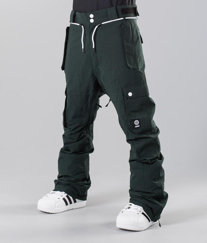 Dope Iconic 18 Pantalones de nieve Green