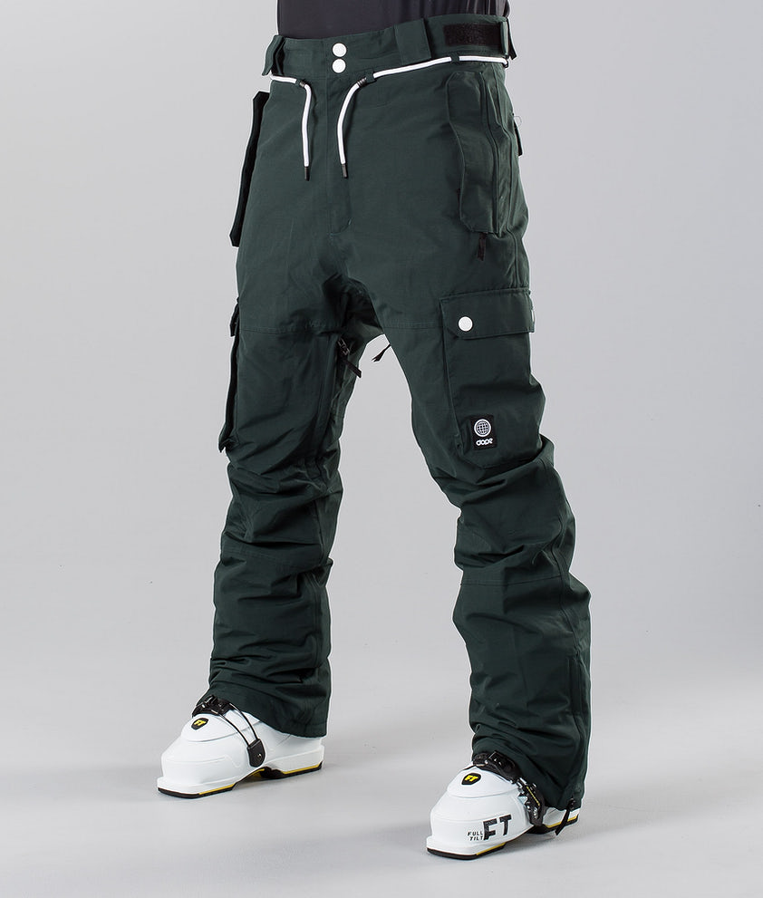 Dope Iconic 18 Pantalon de Ski Green