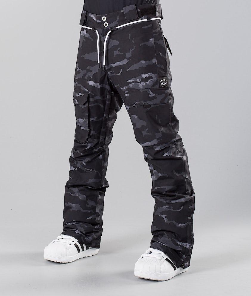 Dope Poise Pantalon de Snowboard Black Camo