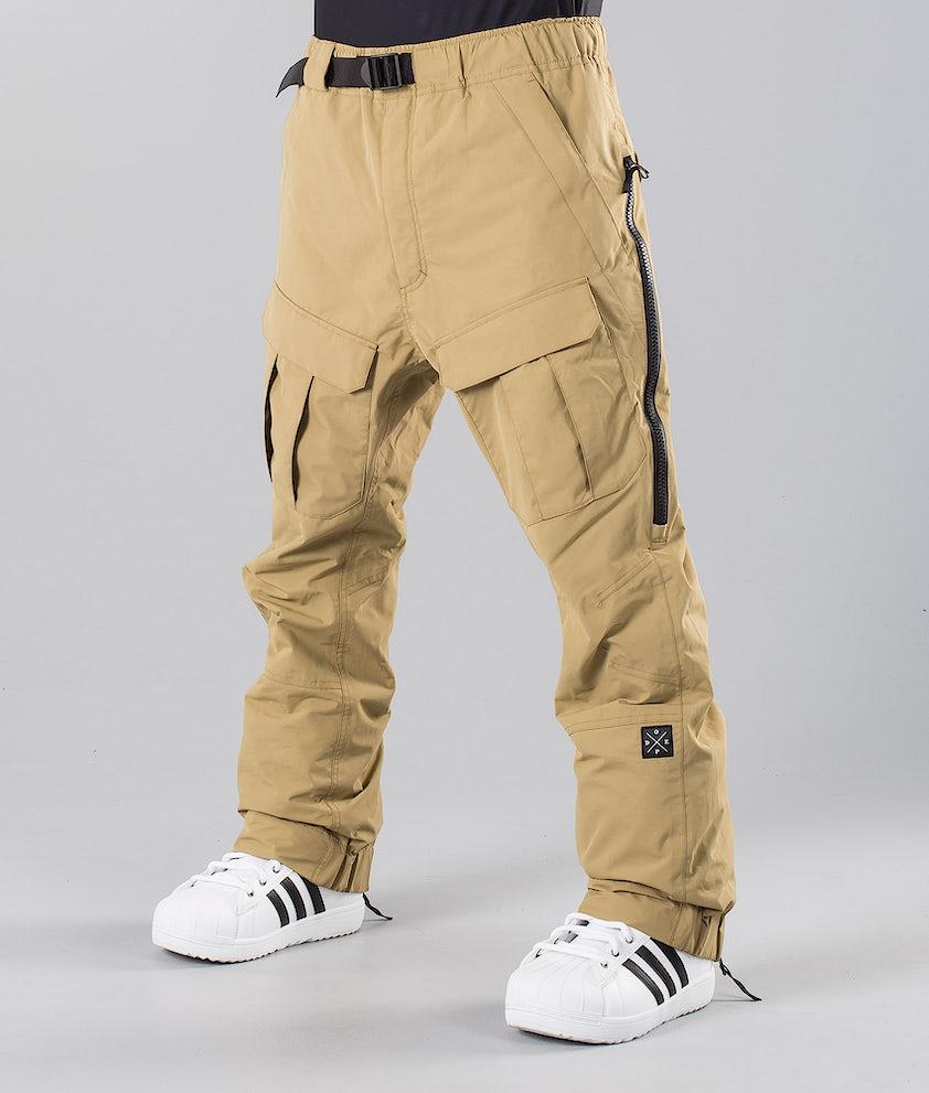Dope Antek Pantalon de Snowboard Khaki