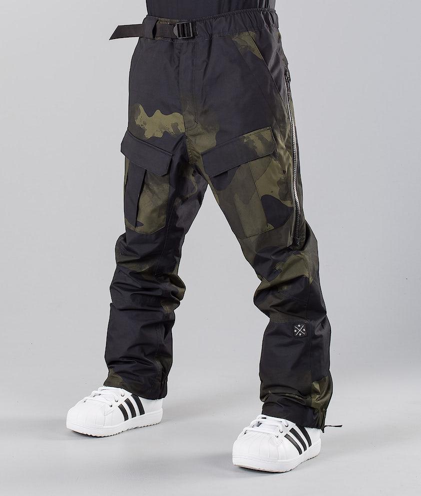 Dope Antek Pantalon de Snowboard Green Camo