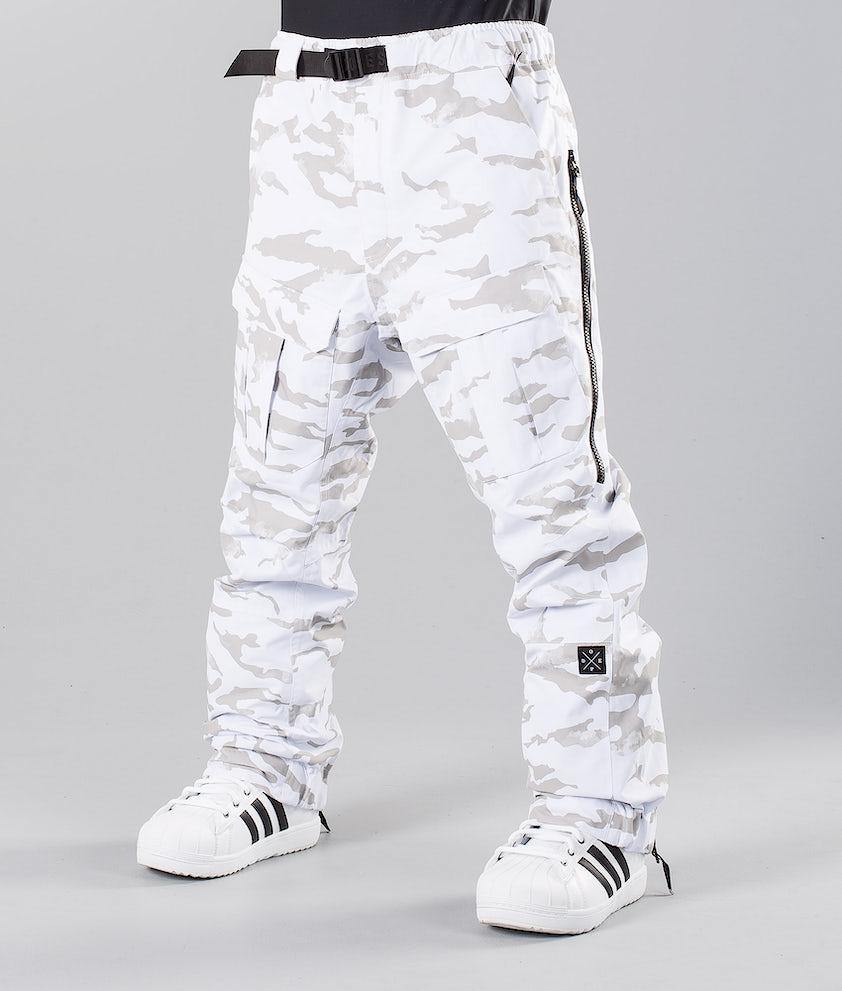 Dope Antek 18 Snowboardbyxa White Camo