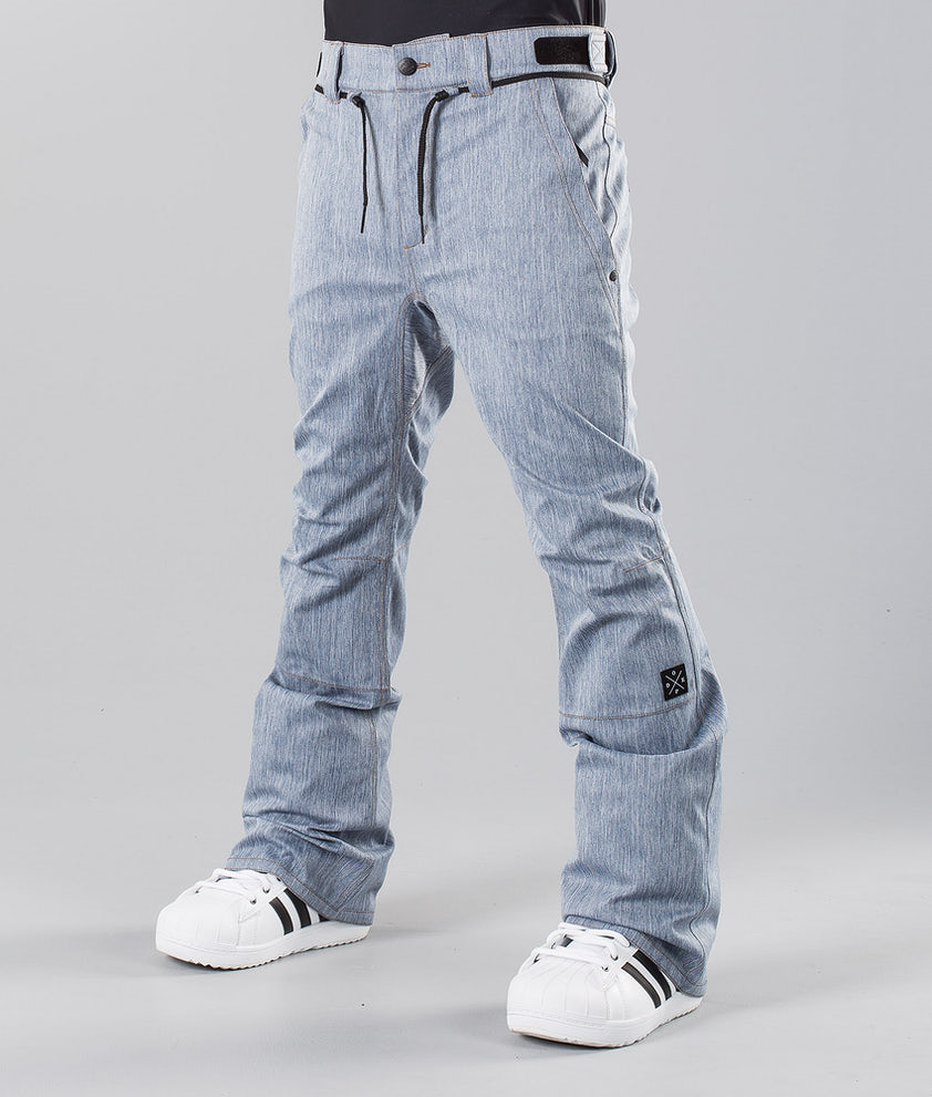 Dope Tiger Pantalon de Snowboard Denim