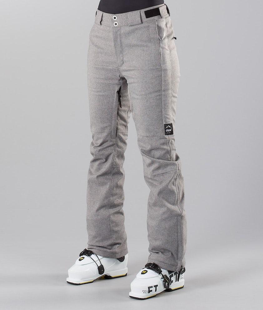 Dope Con 18 Ski Pants Grey Melange