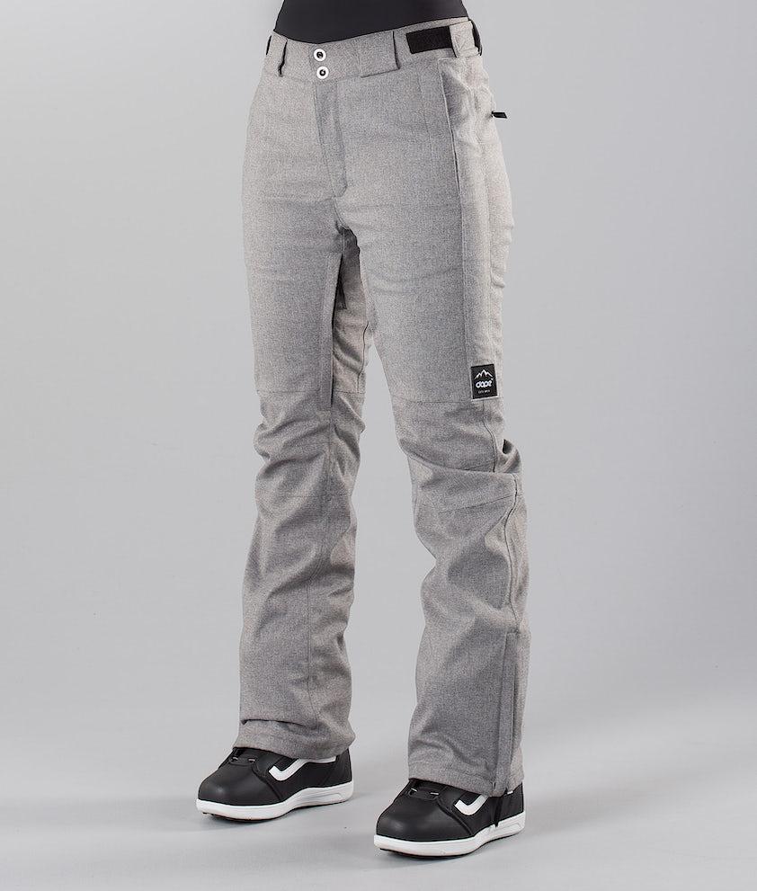 Dope Con 18 Pantalon de Snowboard Grey Melange