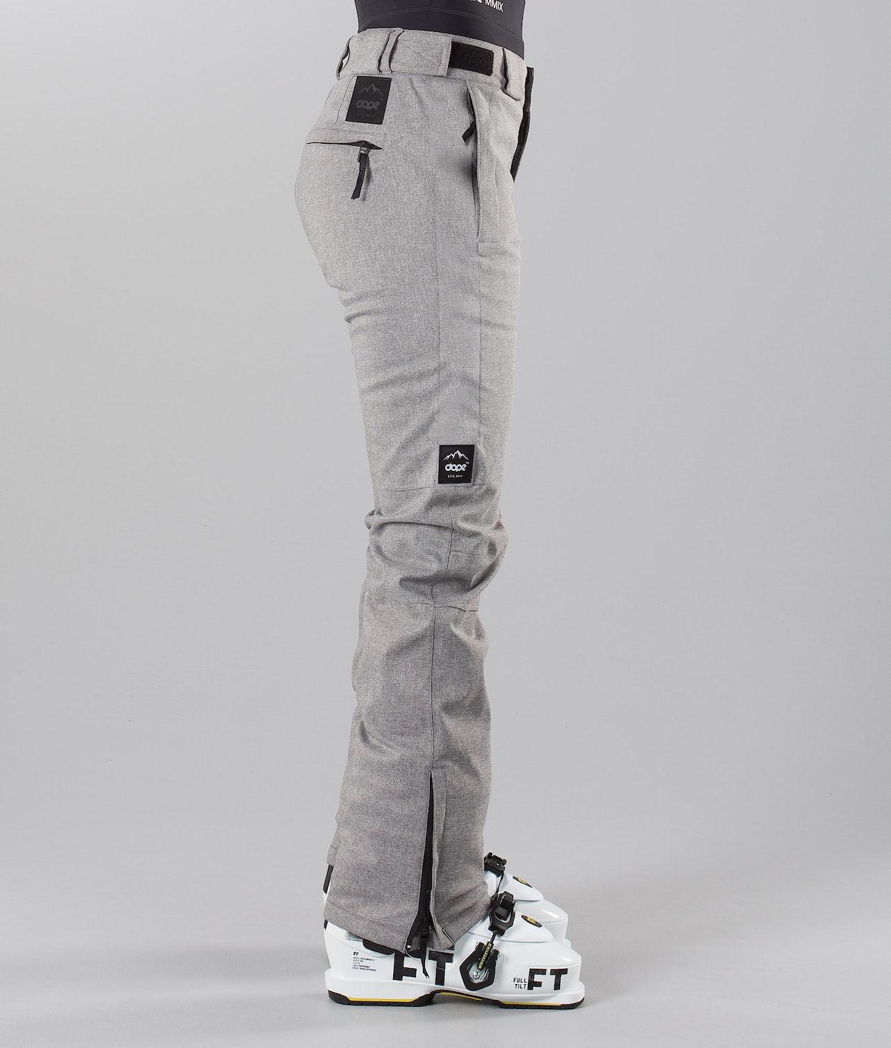Dope Con 18 Skibukse Grey Melange