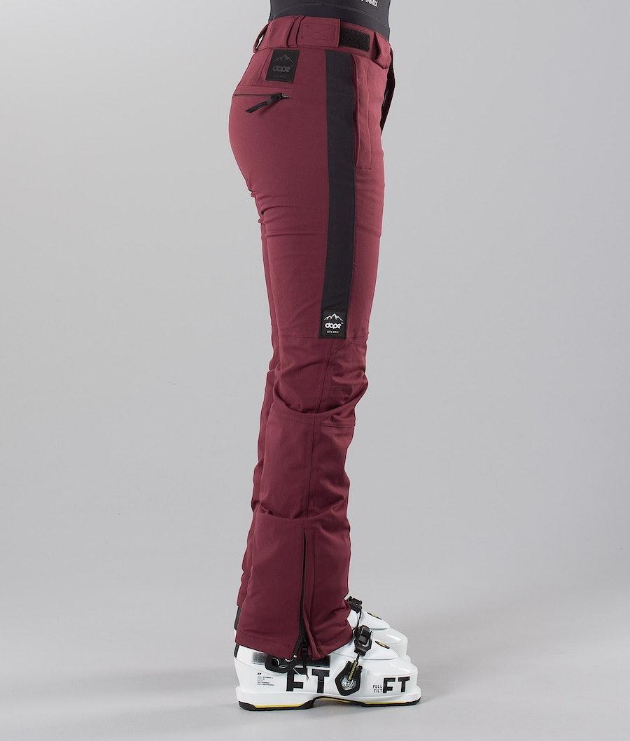 Dope | Con 18 de chez Pantalon de Ski Burgundy | Ridestore.com